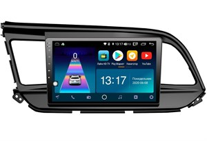 DayStar DS-7165Z с DSP + 4G SIM + CarPlay для Hyundai Elantra 2018+ на Android 8.1.0