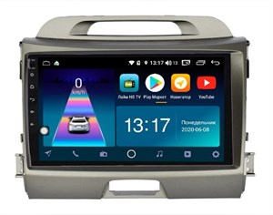 DayStar DS-7071Z с DSP + 4G SIM + CarPlay для KIA Sportage 2010-2016 на Android 8.1.0