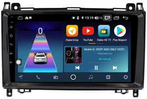DayStar DS-7096Z с DSP + 4G SIM + CarPlay для A-klasse (W169) 2004-2012, B-klasse (W245) 2005-2011, Vito ll (W639) 2006-2014, Vito III (W447) 2014-2020, Viano ll (W639) 2006-2014, Sprinter на Android 10.0