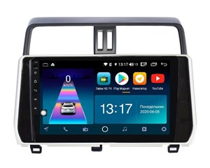 DayStar DS-7109Z с DSP + 4G SIM + CarPlay для Toyota Land Cruiser Prado 150 2017-2020 на Android 8.1.0