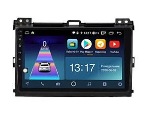 DayStar DS-8001Z с DSP + 4G SIM + CarPlay для Toyota Land Cruiser Prado 120 2002-2009 на Android 8.1.0