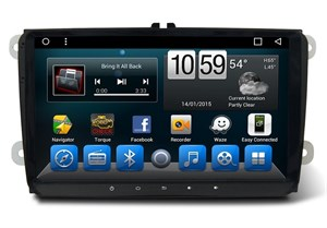 CarMedia KR-9071-S9 для Volkswagen Amarok, Passat, Golf, Caddy, Polo на Android 8.1