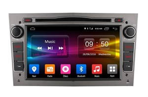 CarMedia OL-7993-s для Opel Astra H, Antara, Zafira, Vectra, Corsa, Meriva, Omega (серая) на Android 6.0