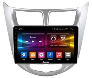 CarMedia OL-9707-2D-P5-32 для Hyundai Solaris I 2011-2017 на Android 9.0