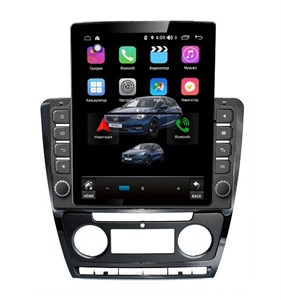 Farcar RT005R (S300) TESLA с DSP для Skoda Octavia II (A5) 2004-2013 на Android 9.0