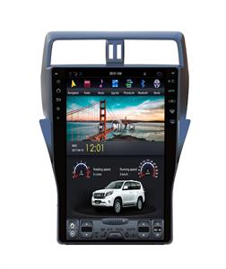 CarMedia ZF-1805-DSP Tesla-Style для Toyota Land Cruiser Prado 150 2017+ на Android 9.0