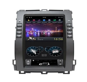 Штатная магнитола Farcar ZF456-2 Tesla Style для Toyota Land Cruiser Prado 120 2002-2009 на Android 8.1