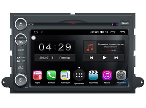Farcar RG148 (S300) SIM-4G с DSP для Ford Fusion, Explorer, Expedition, Mustang 2005-2011 на Android 9.0