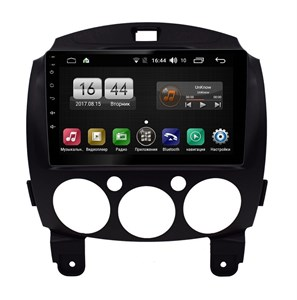 FARCAR LX1200R (S195) с DSP для Mazda 2 II 2007-2014 на Android 8.1