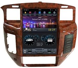 CarMedia ZF-1270-DSP Tesla-Style для Nissan Patrol 2004-2010 low Y61 на Android 9.0