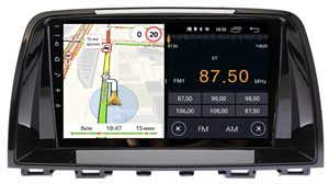 Parafar для Mazda 6 III 2012-2015 на Android 8.1.0 (PF010LTX)