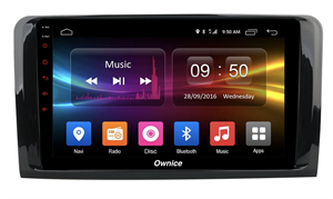 CarMedia OL-9950-1D-S9 для MERCEDES ML класс W164 2005-2011, GL класс X164 2006-2012 на Android 8.1