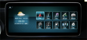 CarMedia XN-M1006 MERCEDES C class / CLK W204 2006-2011 на Android 10.0