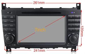 CarMedia XN-M790-P30 MERCEDES G-класс W463 2007-2012, C-класс W203 рестайл 2004-2007, CLK, CLC, SLK на Android 10.0