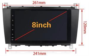 CarMedia XN-M820-P6 MERCEDES G-класс W463 2007-2012, C-класс W203 рестайл 2004-2007, CLK, CLC, SLK на Android 10.0