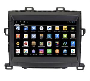 Parafar PF698XHD для Toyota Alphard II 2008-2014 на Android 9.0