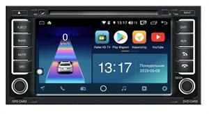 DayStar DS-7081Z с DSP + 4G SIM + CarPlay для Volkswagen Touareg (2002-2010) / Multivan (2003-2015) на Android 10.0