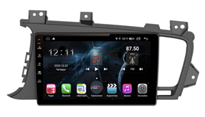 Farcar H091R (S400) с DSP + 4G SIM для Kia Optima III 2010-2013 на Android 10.0