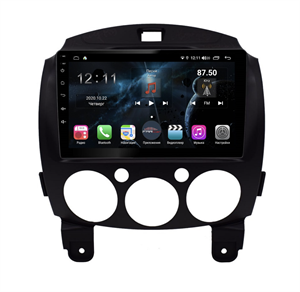 Farcar  H1200R (S400) с DSP + 4G SIM для Mazda 2 2007-2014 на Android 10.0