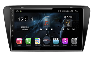 Farcar H483R (S400) с DSP + 4G SIM для Skoda Octavia III (A7) 2013-2018 на Android 10.0