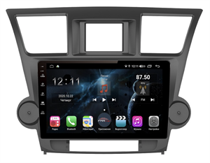 Farcar H035R+can (S400) с DSP + 4G SIM для Toyota Highlander (U40) 2007-2013 на Android 10.0