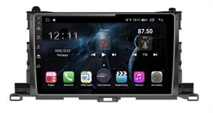 Farcar H467R (S400) с DSP + 4G SIM для Toyota Highlander (U50) 2014-2018 на Android 10.0