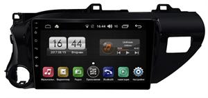 Farcar H588/1077R (S400) с DSP + 4G SIM для Toyota Hilux 2015-2018 на Android 10.0