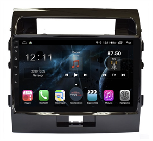 Farcar H381R (S400) с DSP + 4G SIM для Toyota Land Cruiser 200 2007-2015 на Android 10.0