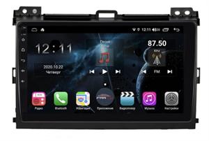 Farcar H456R (S400) с DSP + 4G SIM для Toyota Land Cruiser Prado 120 2002-2009 на Android 10.0