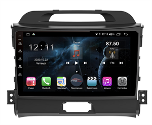 Farcar H537R (S400) с DSP + 4G SIM для KIA Sportage III 2010-2016 на Android 10.0