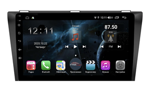 Farcar H161R (S400) с DSP + 4G SIM для Mazda 3 2004 - 2009 на Android 10.0