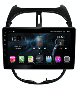Farcar H778R (S400) с DSP + 4G SIM для Peugeot  206 1998-2008 на Android 10.0