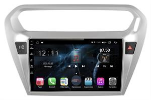 Farcar H294R (S400) с DSP + 4G SIM для Citroen C-Elysee 2012-2021 на Android 10.0