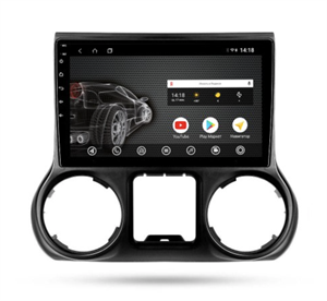 Штатная магнитола VOMI ST2858-TS9 для Jeep Wrangler 2015-2016 на Android 10.0