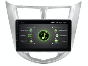 INCAR DTA-2401 для Hyundai Solaris I 2011-2017 на Android 10