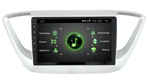 INCAR DTA-2402 для Hyundai Solaris II 2017-2020 на Android 10