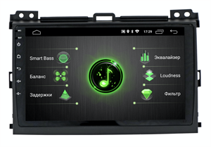 INCAR DTA-2209 для Toyota LC Prado 120 2002-2009 на Android 10