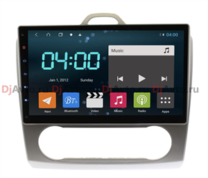 DjAvto 4470 - 4015 для Ford Focus II 2008 - 2011 c DSP на Android 9.0