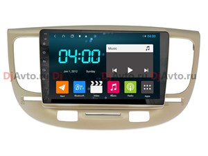 DjAvto 4641 - 4015  Для Kia Rio II 2007 - 2011 c DSP на Android 9.0