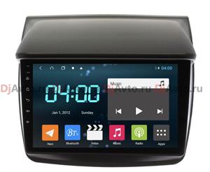 DjAvto 4505 - 4015 для Mitsubishi L200 IV 2006 - 2015, Pajero Sport II 2008 - 2014 c DSP на Android 9.0