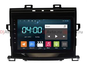 DjAvto 4541-4015 для Toyota Alphard II 2008-2014 c DSP на Android 9.0