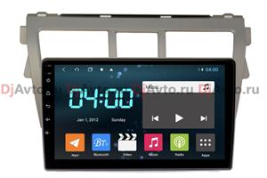 DjAvto 4532-4015 для Toyota Belta 2005-2012, Yaris Sedan 2005-2010, Vios II 2007-2013 c DSP на Android 9.0