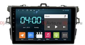 DjAvto 4529-4015 для Toyota Corolla X (E140, E150) 2006-2013 (Антрацит) (Без Воздуховодов) c DSP на Android 9.0