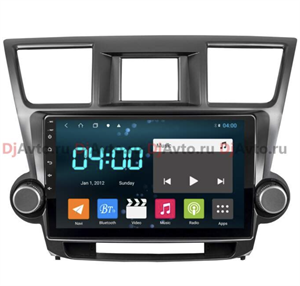 DjAvto 4549-4018 для Toyota Highlander (U40) 2007-2013 c DSP на Android 9.0