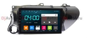 DjAvto 4542 - 4018 для Toyota Hilux 2015-2018 левый руль c DSP на Android 9.0