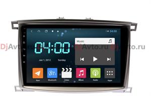 DjAvto 4552 - 4018 для Toyota Land Cruiser 100 2002-2007 (Авто С Климат Контролем) c DSP на Android 9.0