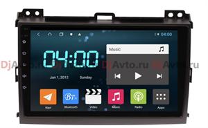 DjAvto 4543-4015 для Toyota Land Cruiser Prado 120 2002-2009 c DSP на Android 9.0