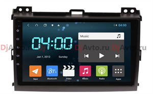 DjAvto 4543-4015 для Lexus GX 470 2002-2009 c DSP на Android 9.0
