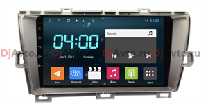 DjAvto 4554 - 4015 для Toyota Prius 2009-2015 правый руль c DSP на Android 9.0