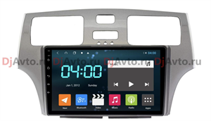 DjAvto 4652-4015 для Lexus ES300 IV 2001 - 2006 c DSP на Android 9.0
